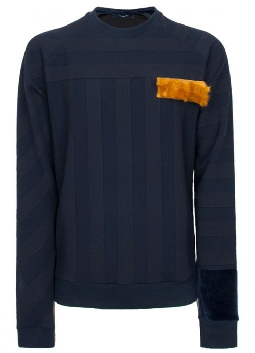 Blue Sweater  Andrez . Independent fashion brand. portuguese design . scar-id store