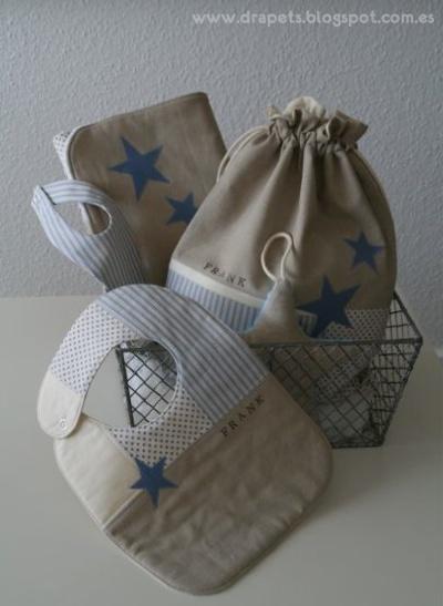pack para bebé de patchwork