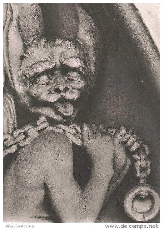 pc written art statue A_06_307 D Bamberger Dom Der Teufel 1988