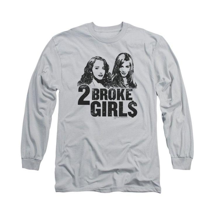 2 Broke Girls - Broke Girls Adult Long Sleeve T-Shirt
