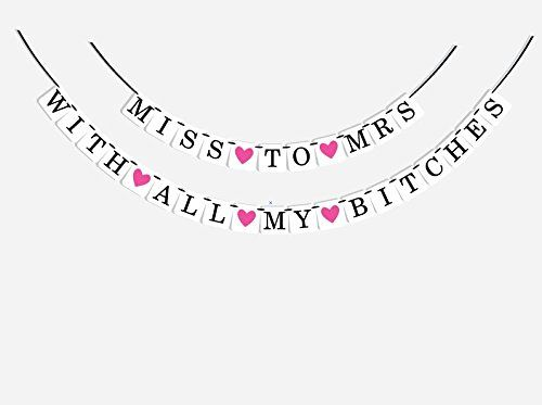 Bachelorette Party Decorations - 2-in-1 Classy and Sassy Bachelorette Party Banner - Bridal Shower Decorations - Premium Quality Bachelorette Party Favors by Sterling James Co. Sterling James Company http://www.amazon.com/dp/B0139E4SBA/ref=cm_sw_r_pi_dp_edr3vb0C1X80W
