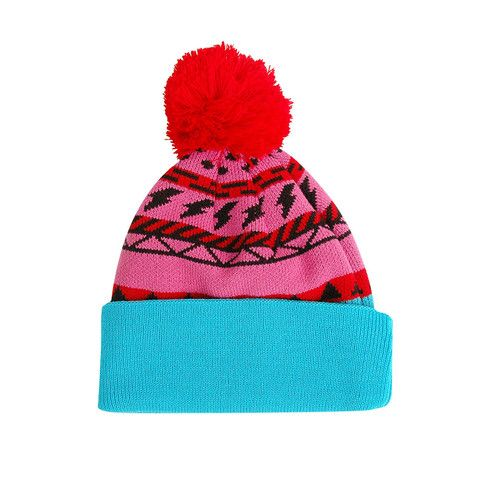 Knitted Pink Toque
