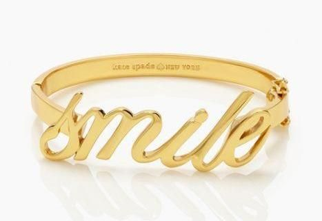 time to…—say yes smile bracelet by kate spade new york (may 2014)