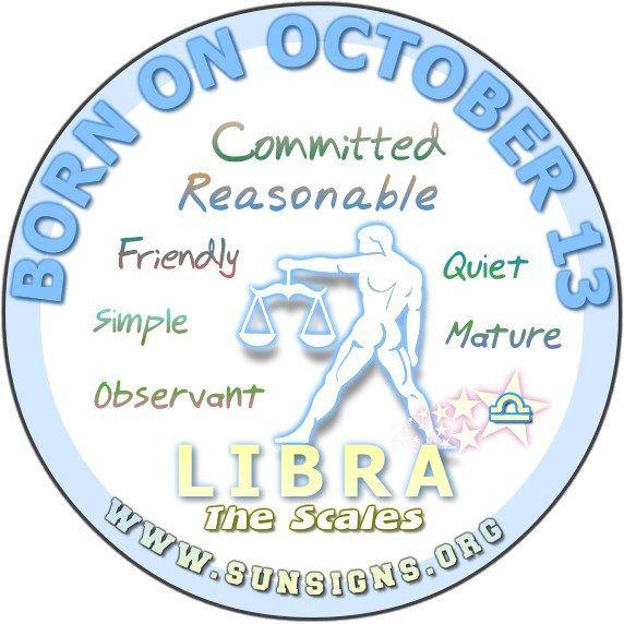 October 13 Birthday Horoscope Personality » Sun Signs