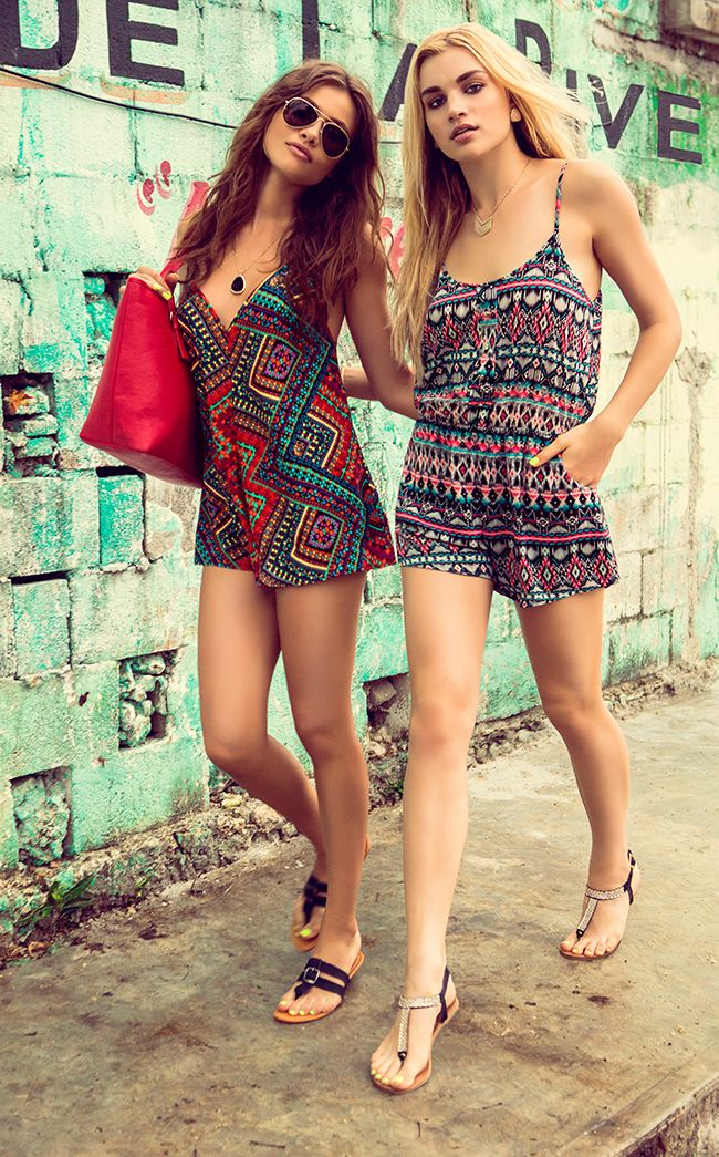 Cute summer rompers from Urban Planet #sportyourultimatemothersday