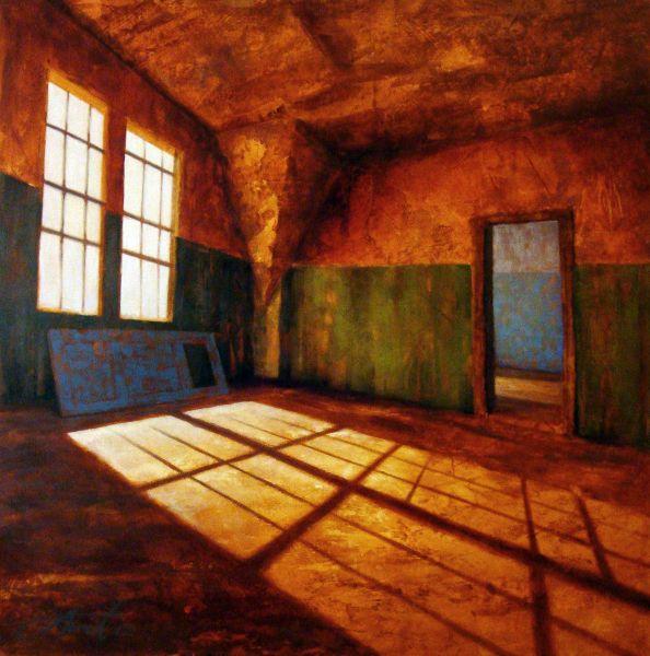 Urban Decay1, 2012, 120x120cm, kr56,000 on Stewart Forrest