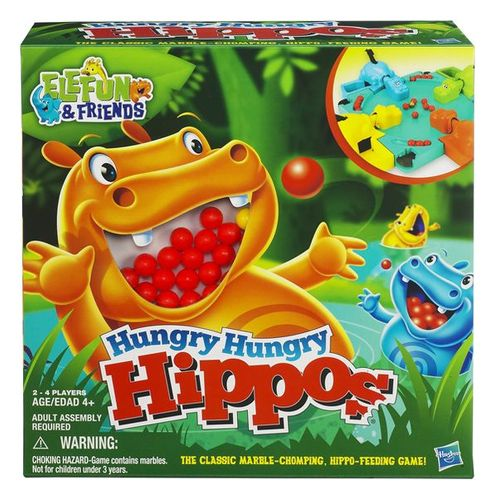 HUNGRY HUNGRY HIPPOS. Finding this game for sale was a blast from the past