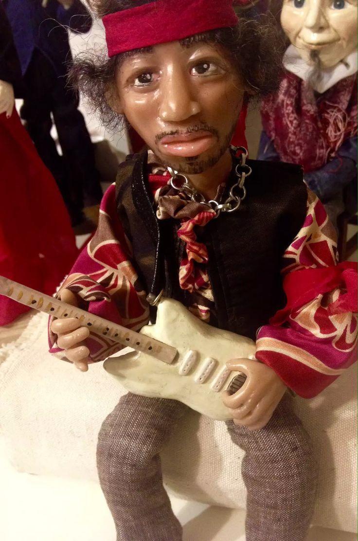 Коллекционная кукла Джимми Хендрикс