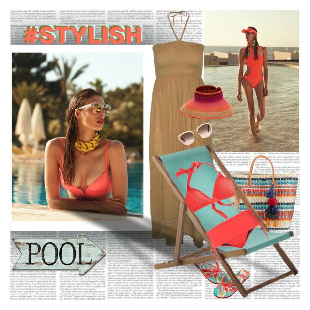 Stylish pool roxy clothing heidi klum and roxy for Swimstyle pool