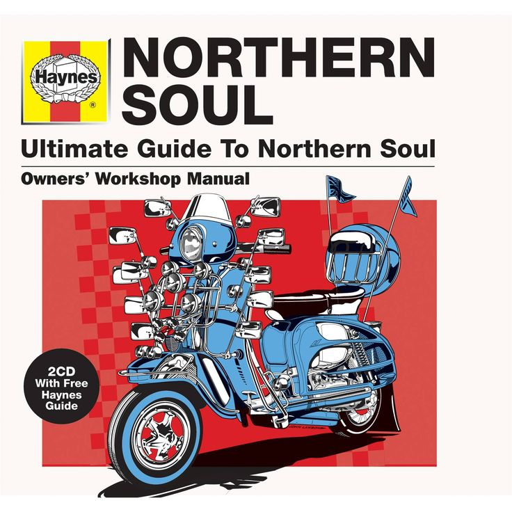 Haynes Ultimate Guide To Northern Soul. I'm from the south but what's not to love? Was always fascinated by the concept of all these white northern youngsters taking obscure unknown soul records to their hearts and starting the whole northern soul movement, it's strange to me that black people weren't/aren't particularly involved.