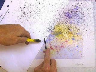 1000 images about watercoulors on pinterest watercolors for Cool watercolor tricks