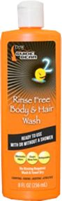 DEAD DOWN WIND LLC DDW Rinse Free Body & Hair Wash 8oz, EA