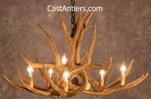 40 best whitetail antler chandeliers images on pinterest antler chandeliers mule deer 6 cast antler chandelier rustic lighting and aloadofball Image collections