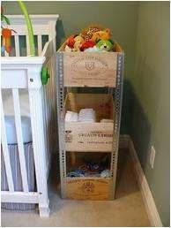 Recycler des caisses à vin
