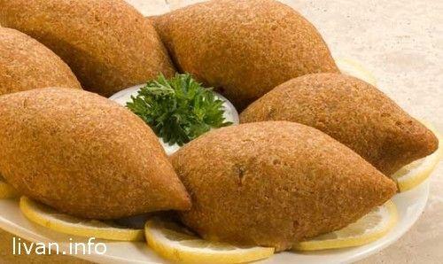 Жаренные Кибби шарики — Fried Kibbeh Balls