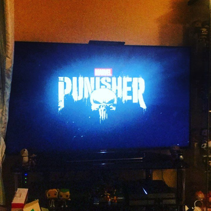 So Punisher is a bit good!  #Punisher #Netflix #Marvel #MarvelComics #FrankCastle #NetflixAndChill #ComicBooks #MarvelFan #MCU #MarvelCinematicUniverse #MarvelTelevision #Thriller #Crime #PhotoOfTheDay #PicOfTheDay #Geek #NerdLife #Action #Drama #JonBernthal #MarvelStudios #BluRay #Cinema #MarvelCosplay #Cosplay
