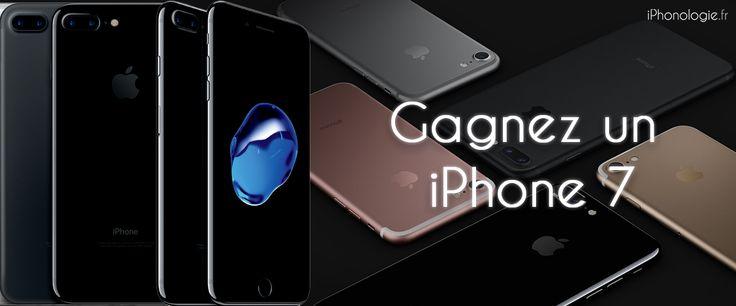 Ne ratez pas concours gratuit : gagnez un iPhone 7 32Go