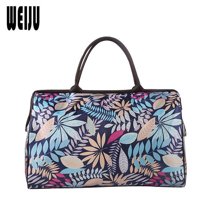 Women Travel Bag 2017 New Print Duffle Bag Casual Luggage Men Travel Bags Large Capacity Hand Bags Ladies YR0314
