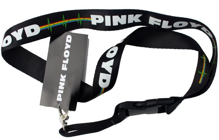 Official Pink Floyd 25mm wide Lanyard featuring The Dark Side of the Moon Heartbeat design Officially Licensed Merchandise See all Pink Floyd Band