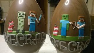Dolcilandia e non solo...: Uova di Pasqua Minecraft