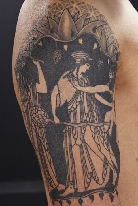 17 best ideas about ancient greek tattoo on pinterest for Greek sculpture tattoo