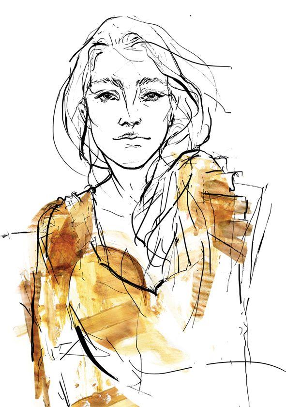 Dorota Wojciechowska #fashion #designer #illustrator #wojciechowska