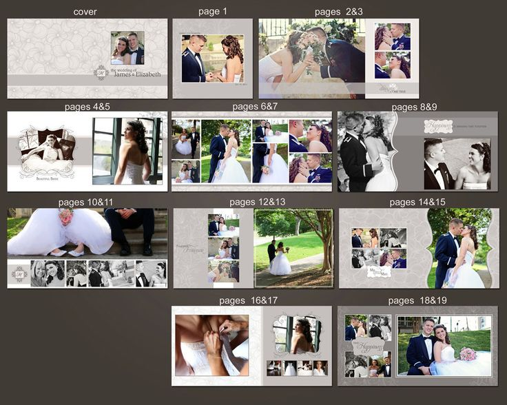 1000 images about wedding fotoalbum on pinterest for Wedding photo album templates in photoshop