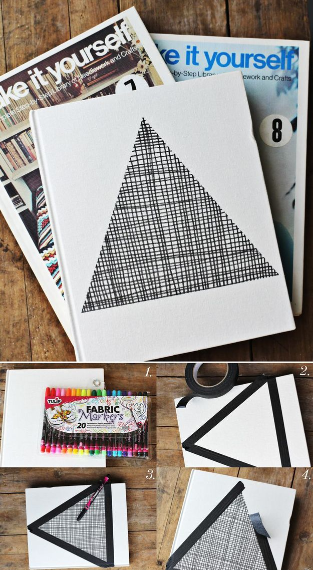 The Fabric Pen Christmas Card | 49 Awesome DIY Holiday Cards