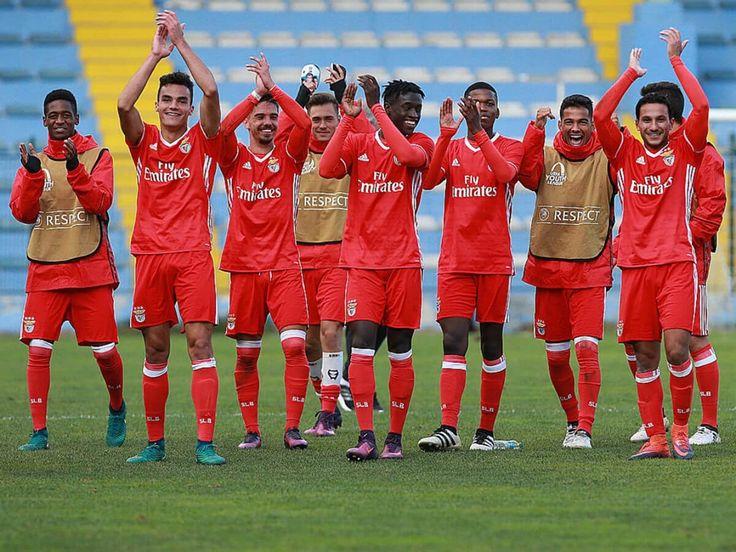Águias estão na final four da UEFA Youth League, 2017.