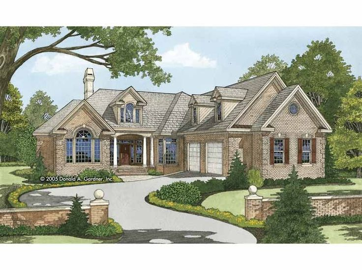 Traditional House Plan With 2753 Square Feet And 4 Bedrooms From Dream Home Source House Plan