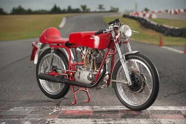 Owned by Gerald Tims of Performance Cycle, you can often see this unique and very rare motorcycle at the Seaba Station Motorcycle Museum in Warwick, Oklahoma.