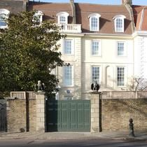 Isambard Kingdom Brunel lived here. 98 Cheyne Walk, London SW10