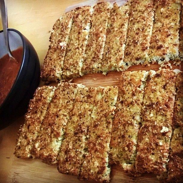 Cauliflower Breadsticks - Mains   Amanda Greenthumb - Certified Health Coach