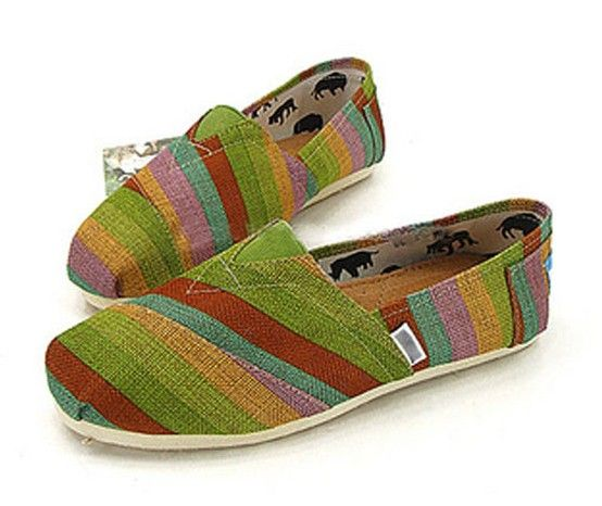 Men's Cheap Toms Shoes in Rainbow Striped : Men's And Women's Toms Shoes, Discount  Online Sale, Toms Outlet Offer the 2013 Latest and Classic Toms Shoes, ...