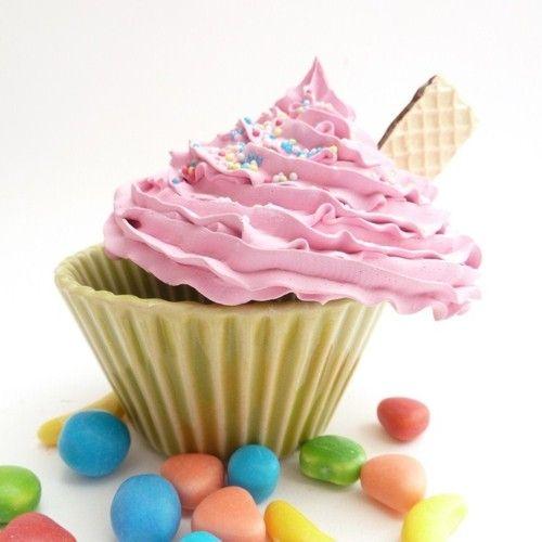 Cupcakes de mentirinha - Fake cupcakes
