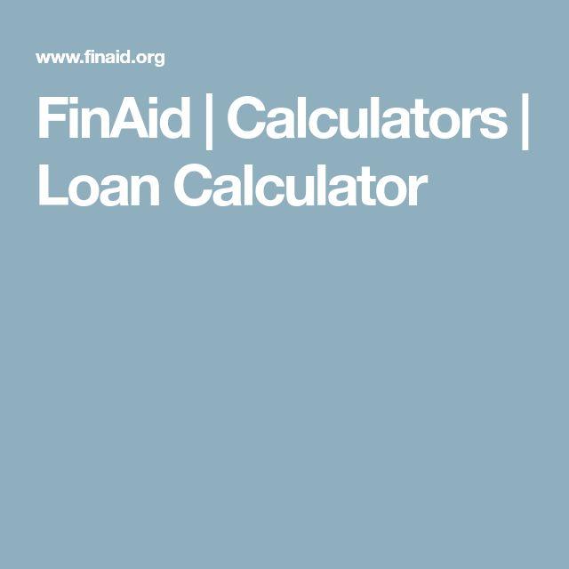 25+ unique Loans calculator ideas on Pinterest | Saving money calculator, Monthly budget sheet ...