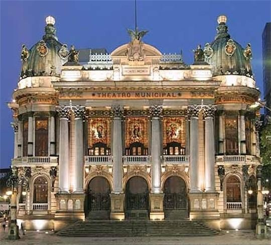Teatro Municipal. Rio de Janeiro - RJ