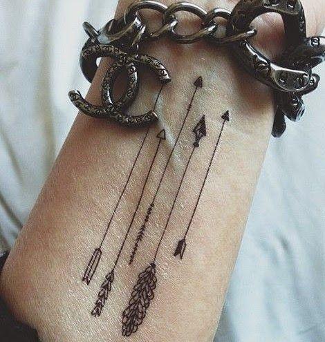 arrow tattoos for women - Google Search