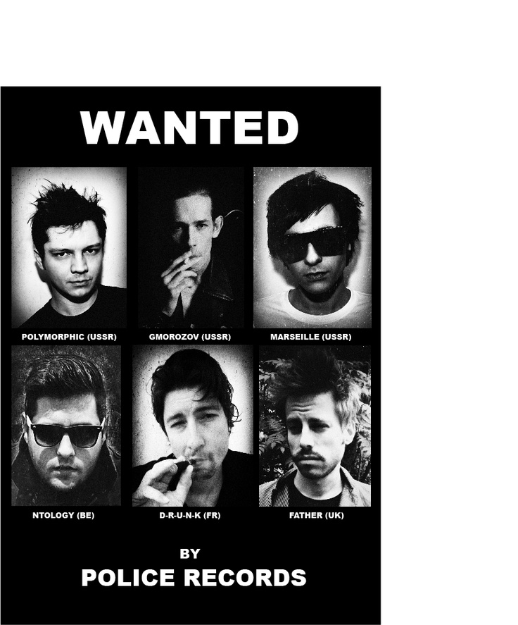 Police Records MOST WANTED remixers!