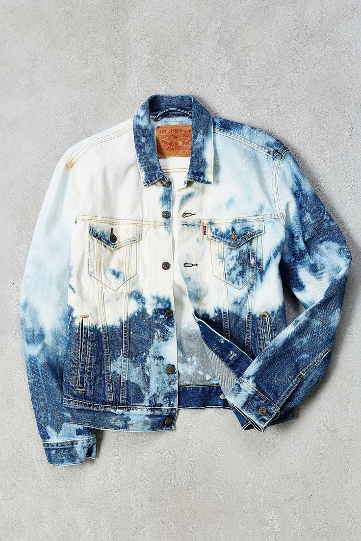 Levi's Bleached Denim Trucker Jacket