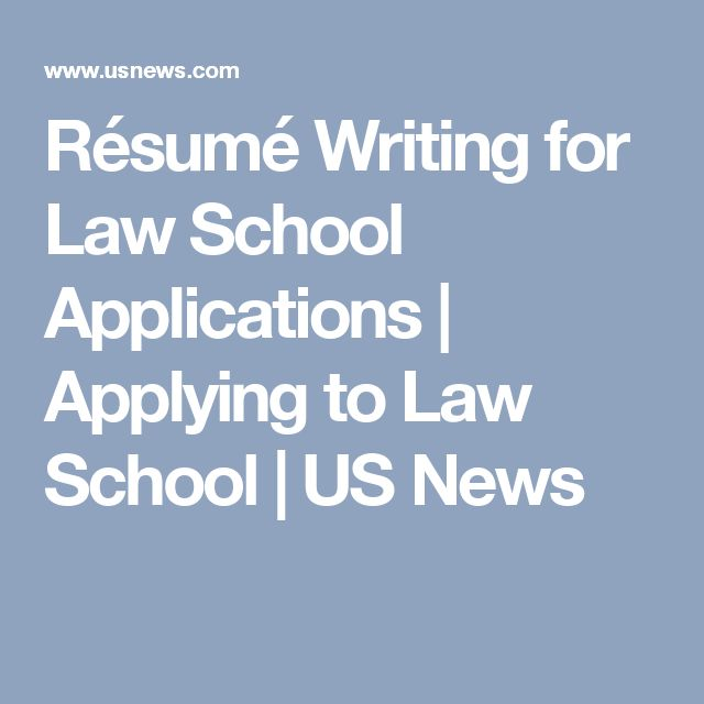 Essay for law school admissions