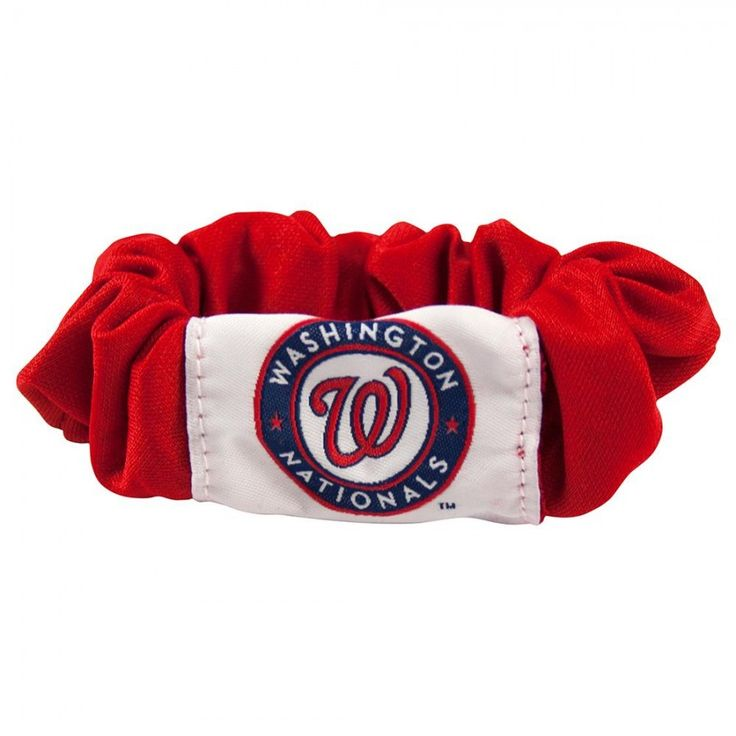 Washington Nationals MLB Hair Twist  Show you're a fanatic from head to toe with #Littlearth's line of officially-licensed hair accessories. The #Hair #Twist keeps your hair held in style white displaying your team pride and keen fashion sense.