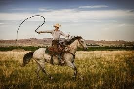 "The cowboy was from Florida first, where they were termed ""crackers"" because of the sound of their whips."