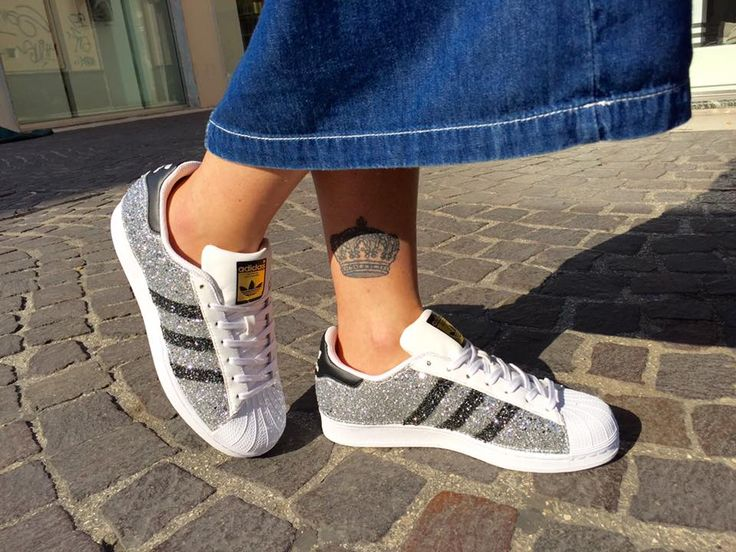Ciao, mi chiamo Adidas Supestar e sono una Limited Costumizzata