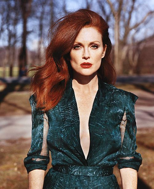 Julianne Moore. The greatest red of all.