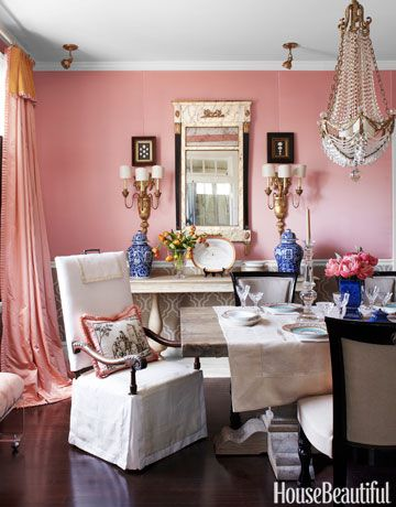 donnas blog pantone spring 2015 color report strawberry ice designer kelee katillac pink dining roomsapartment