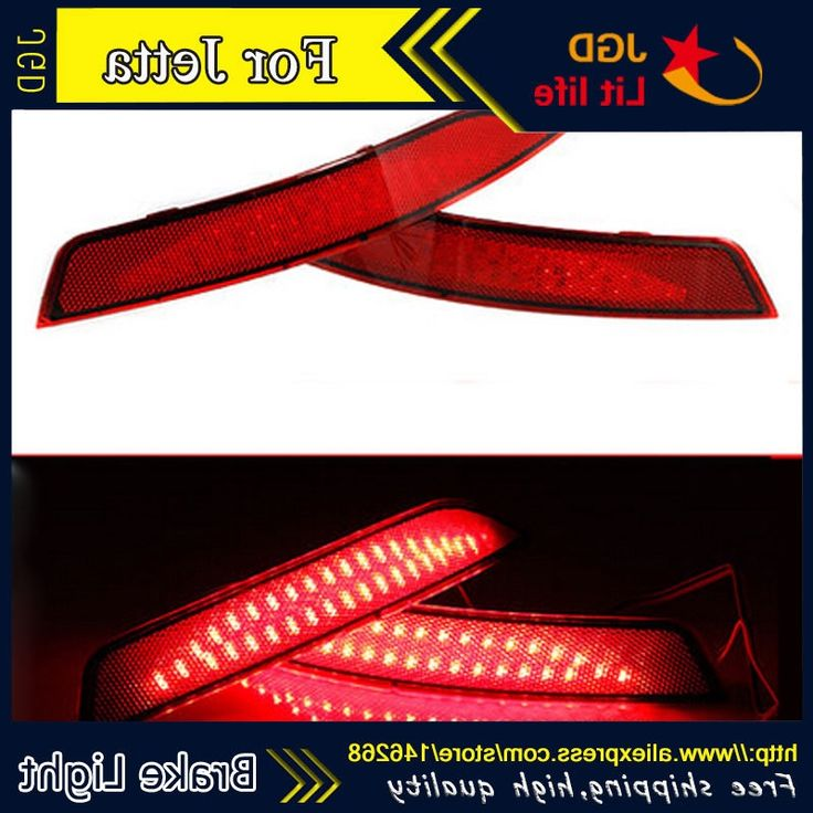 29.80$  Buy here - https://alitems.com/g/1e8d114494b01f4c715516525dc3e8/?i=5&ulp=https%3A%2F%2Fwww.aliexpress.com%2Fitem%2FTail-light-parking-warning-rear-bumper-reflector-case-for-VW-Jetta-2012-2013-2014-Car%2F32766312276.html -  Tail light parking warning rear bumper reflector case for VW Jetta 2012 2013 2014 Car styling car-styling led Accessories