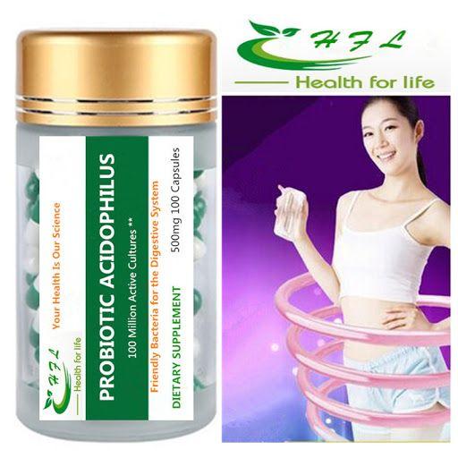 Degusta+ Exquisitos Platos y Tapas: Acidophilus probiótico100 cápsulas