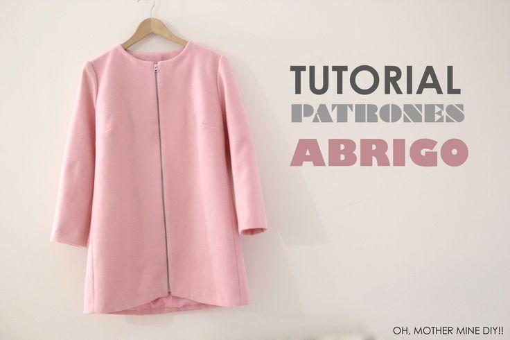 DIY ropa, como hacer tu misma este abrigo para mujer paso a paso. La costura es muy sencilla!!!! Los patrones los tenéis disponibles y gratis en el blog. En ...