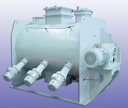 500 Liter Mixer with Spray Nozzles